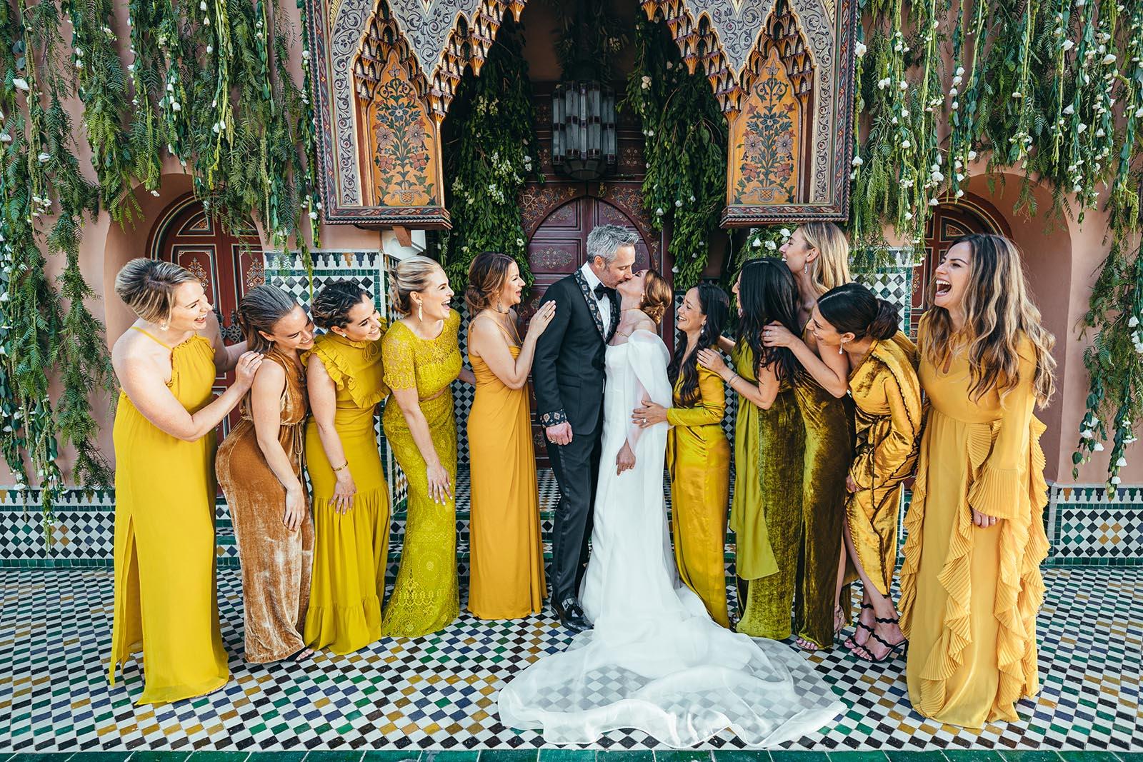 luxury wedding in marrakech la pause desert of agafay la mamounia and la maison arabe