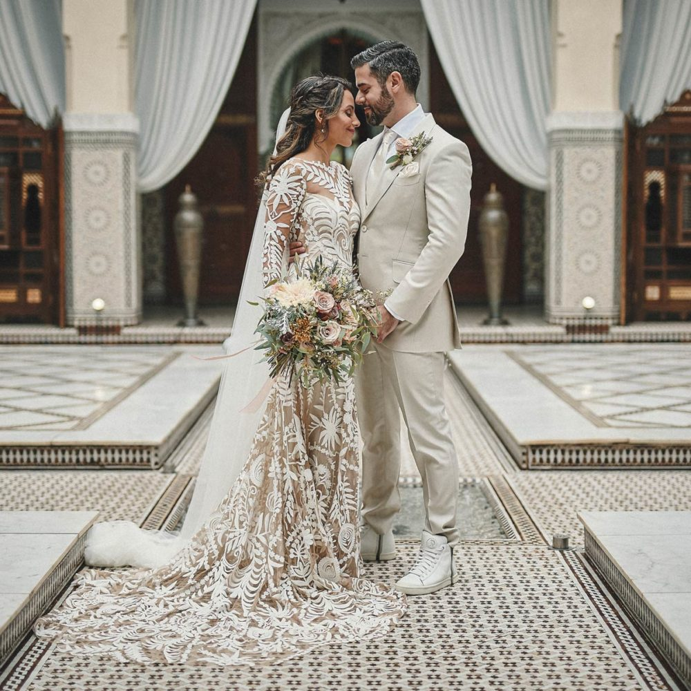 wedding photographer marrakech royal mansour luxury elopement shooting