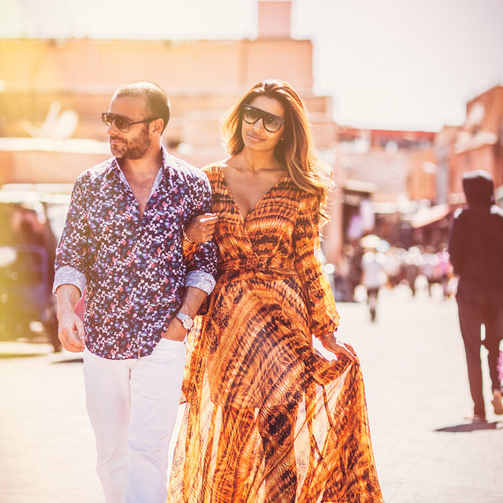 Elopement in Marrakech, Engagement Marrakech in the Medina tour old city © Ettore Franceschi