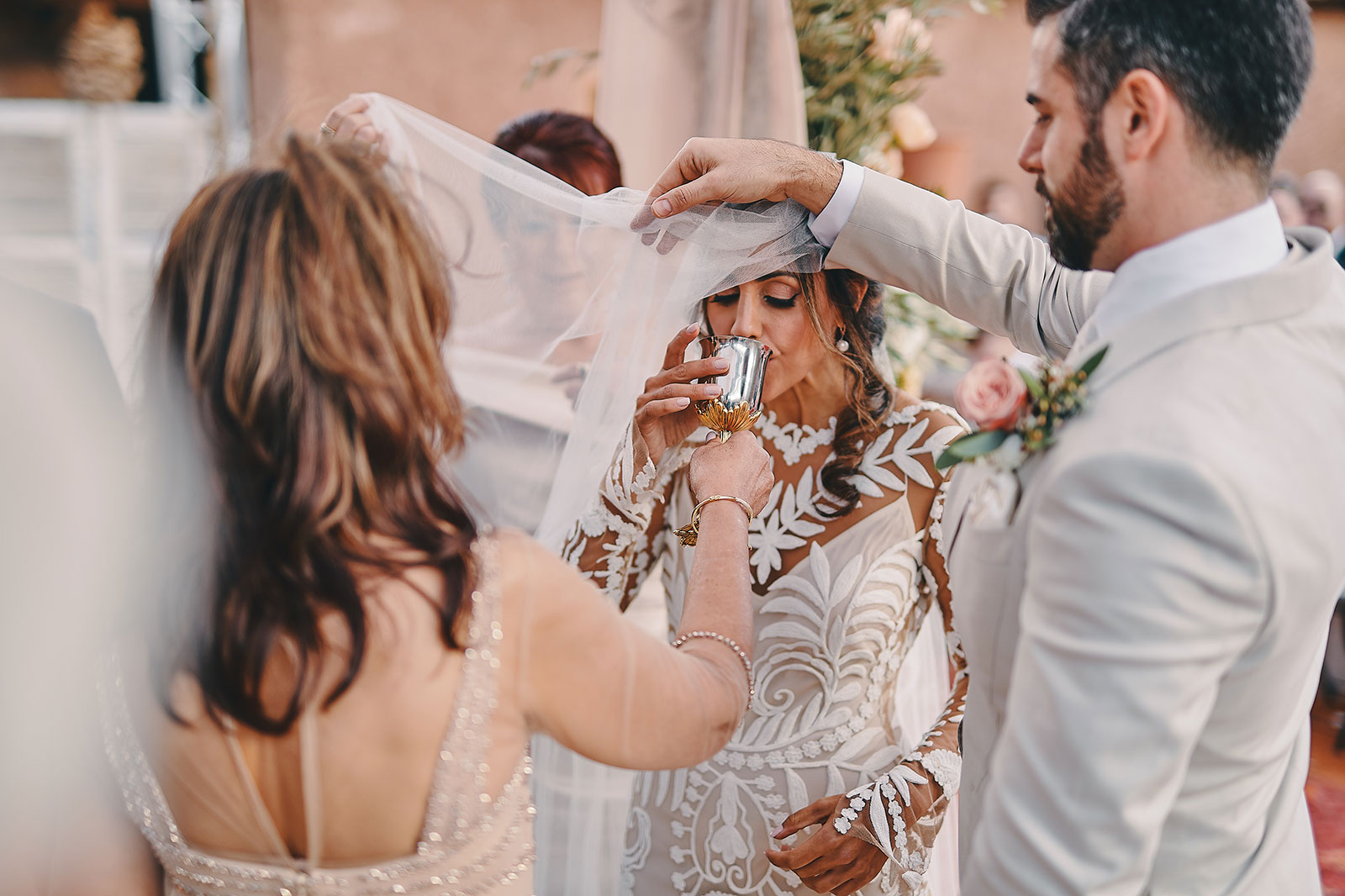 luxury wedding in marrakech desert of agafay royal mansour beldi country club Allie & Shane