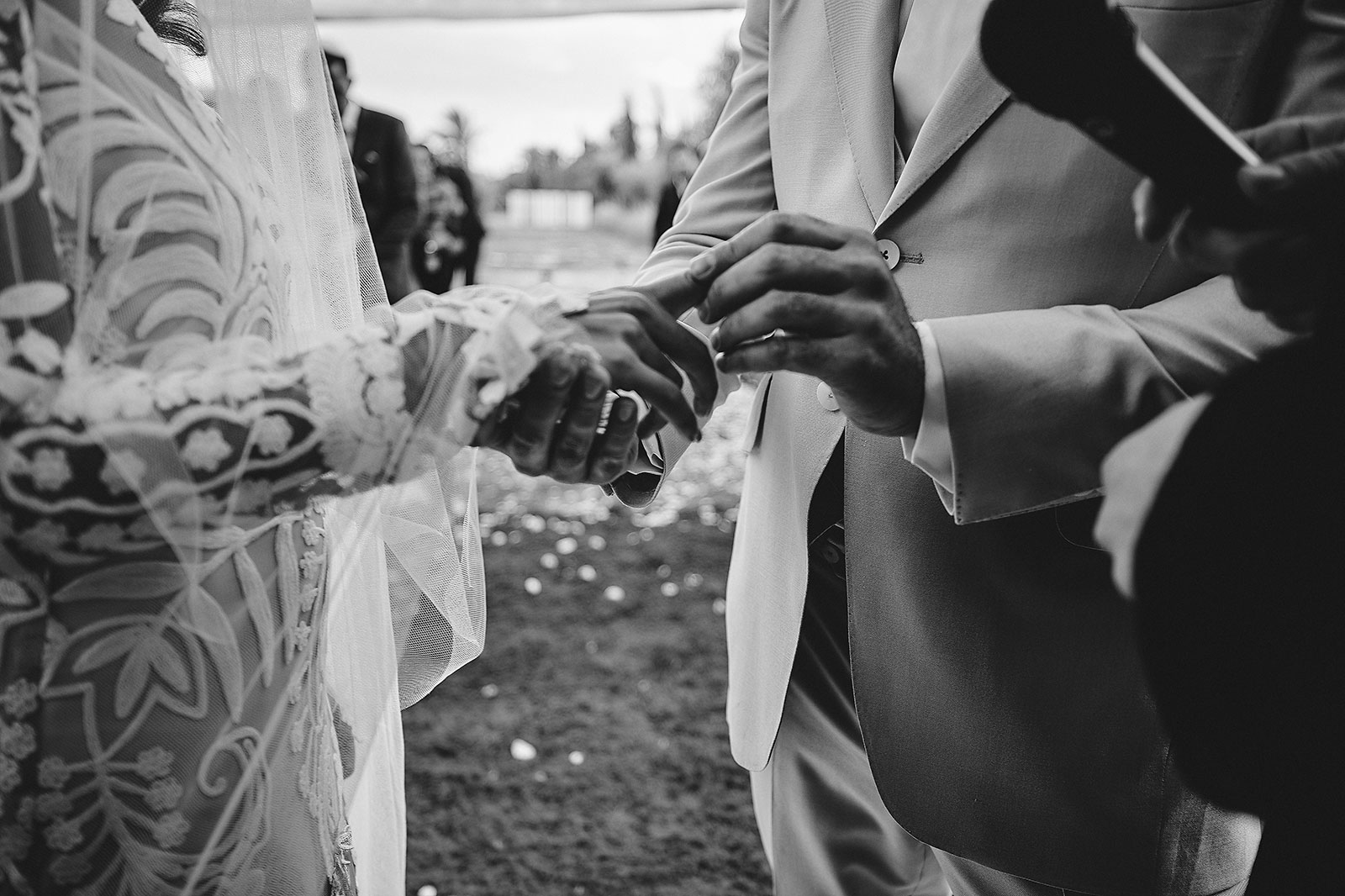 luxury wedding in marrakech desert of agafay royal mansour beldi country club Allie & Shane